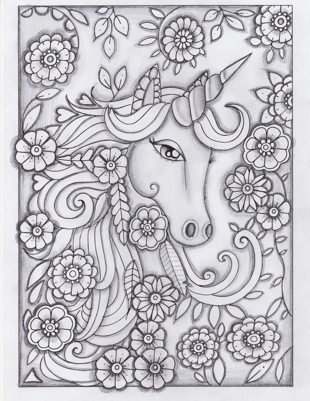 coloring   Mandalas para Pintar   Pinterest   Mandalas, Unicornios y ...