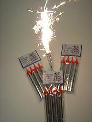Amazon Big Birthday Cake Sparklers Pack Of 4 Everything Else