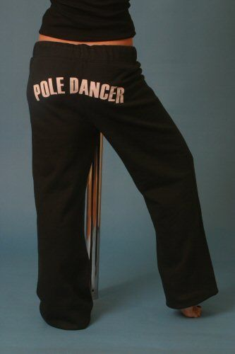 Tracksuit Bottoms - 'Pole Dancer'   Pole dancing clothes ...