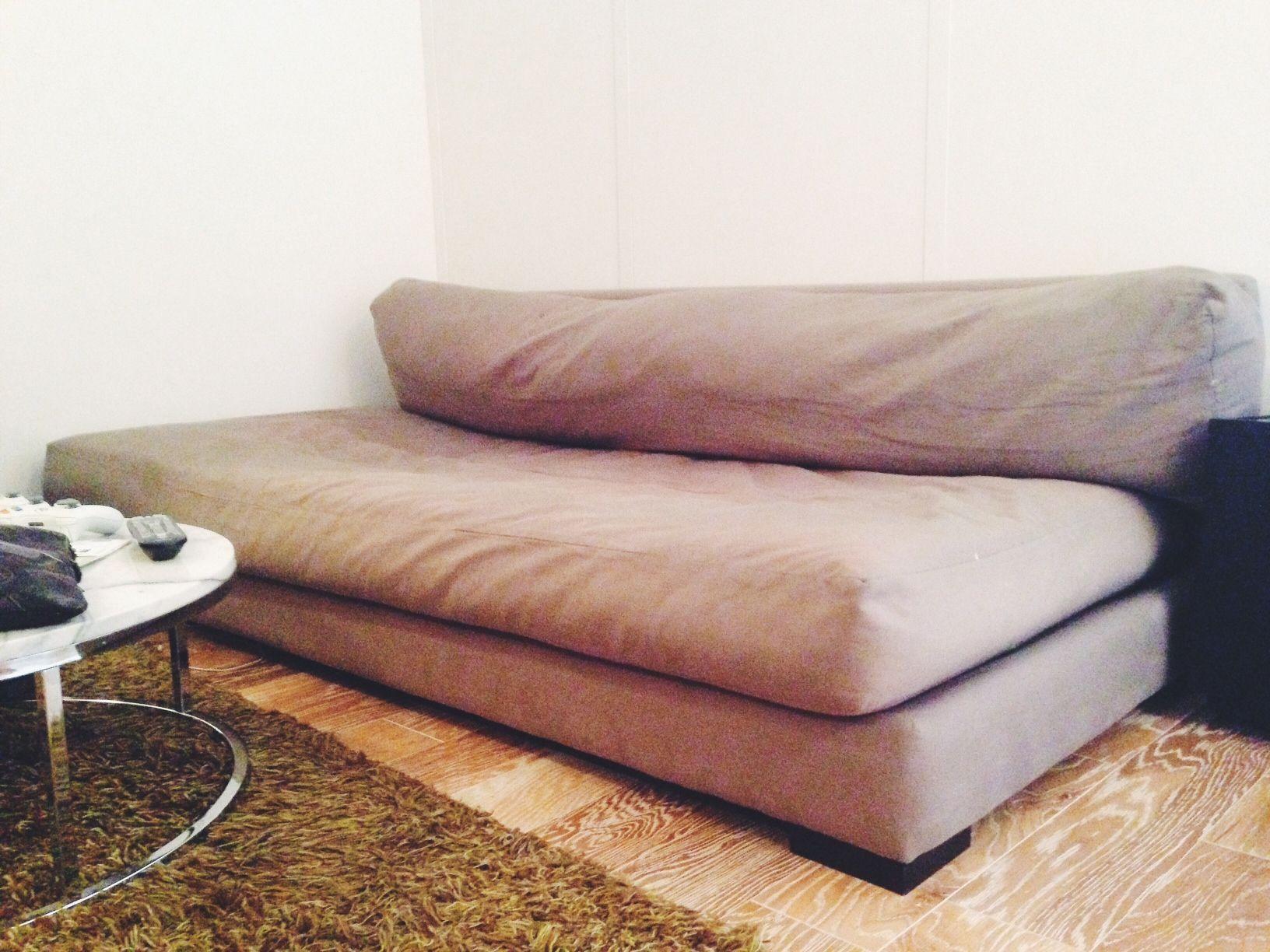 cb2 piazza sofa storm velvet sofa