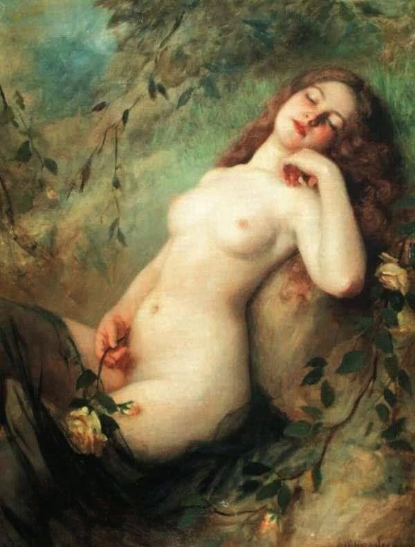 ✿ Victor Karlovich SHTEMBERG (1863-1917) ✿ | Catherine La Rose Poesia e Arte