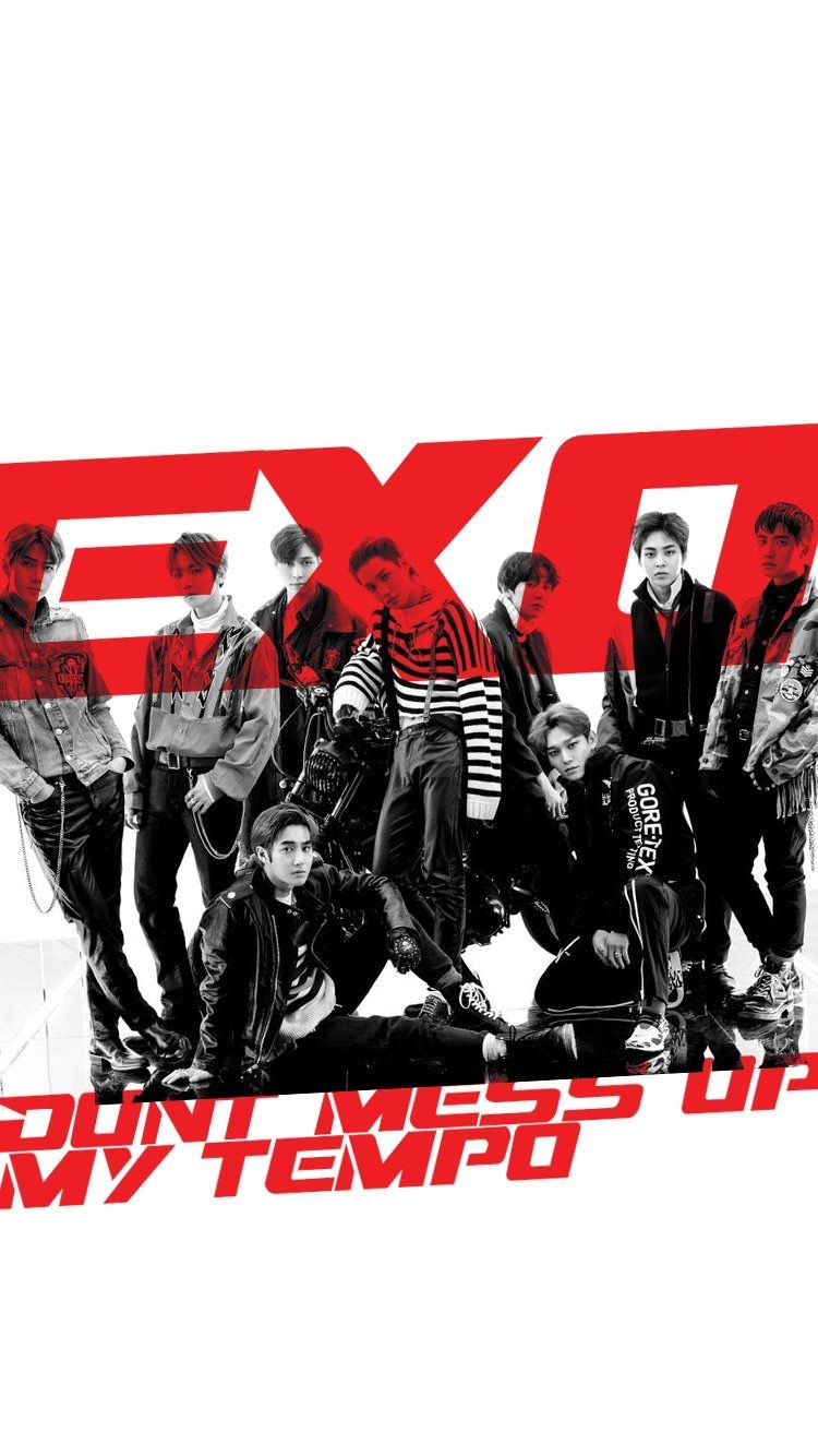 Exo 181102 Exo Don T Mess Up My Tempo Wallpaper