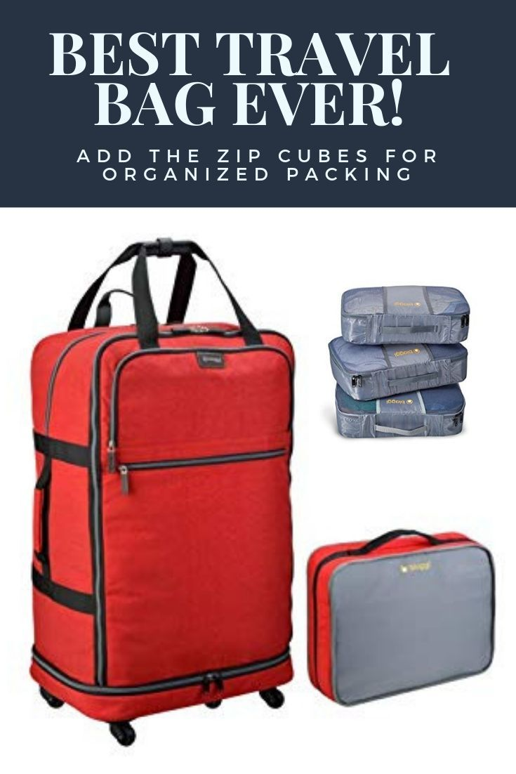 My Favorite Travel Bag Makes Packing A Breeze I An Organizing Junkie And A True Blue Fan Of These Bags Ht Best Travel Bags Travel Bags California Travel
