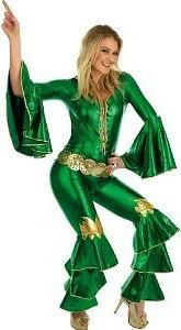 Supertrooper Dancing Queen Schlagersangerin Kostum Der 70er Jahre