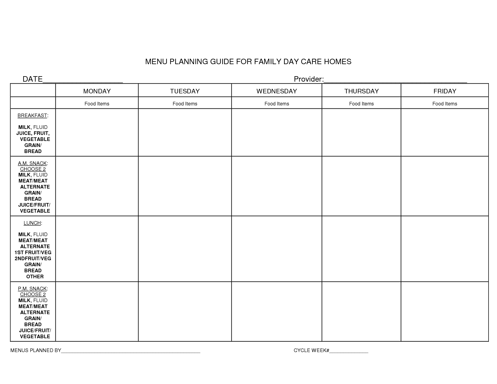 free family menu templates Yahoo Image Search Results – Lunch Menu Template Free