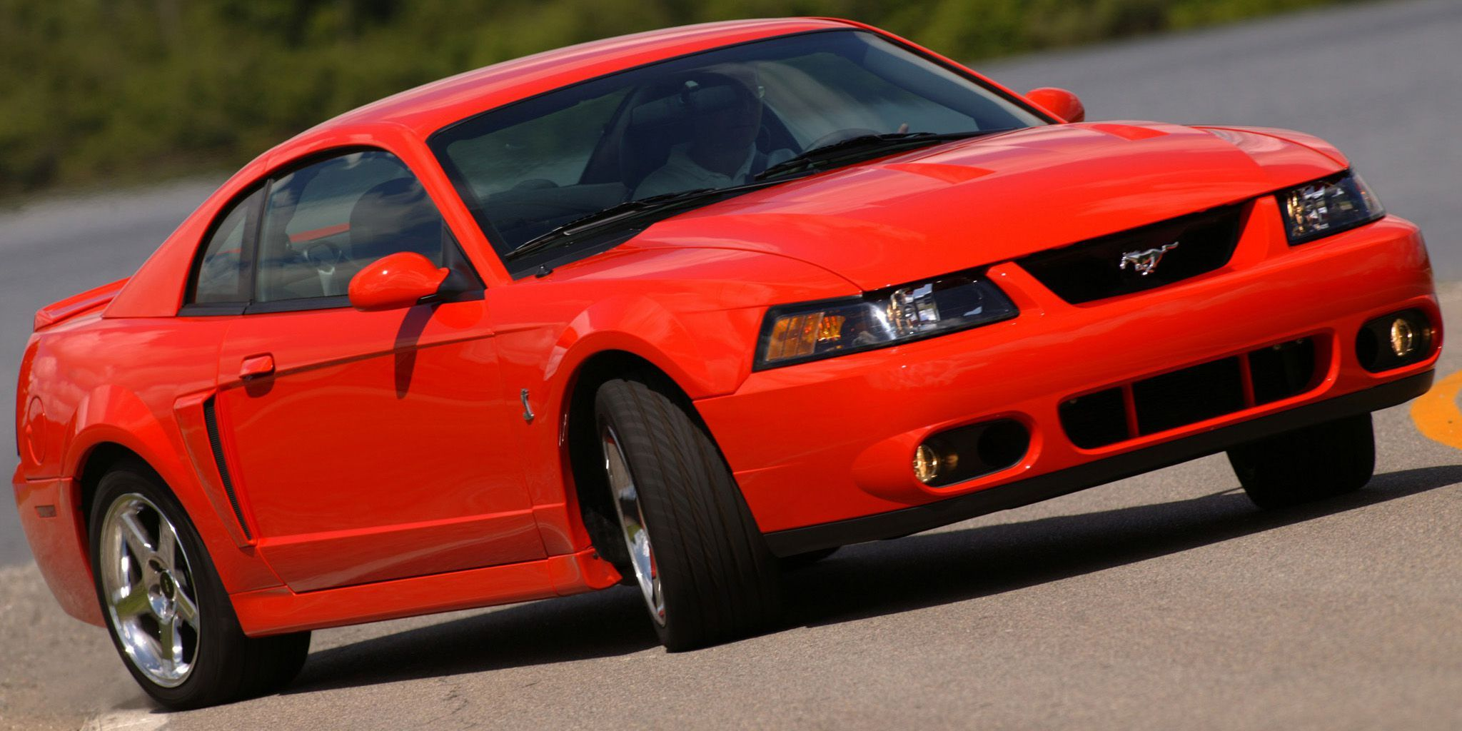 A 2004 Ford Mustang Svt Cobra Is Still A Monster Today Stangbangers 2004 Ford Mustang Ford Mustang Cobra Mustang