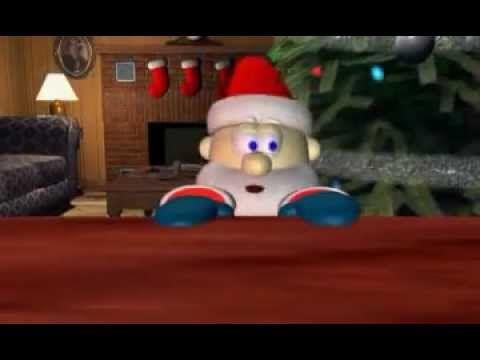 Je Vous Présente Le Père Noël A Faim Un Dessin Animé