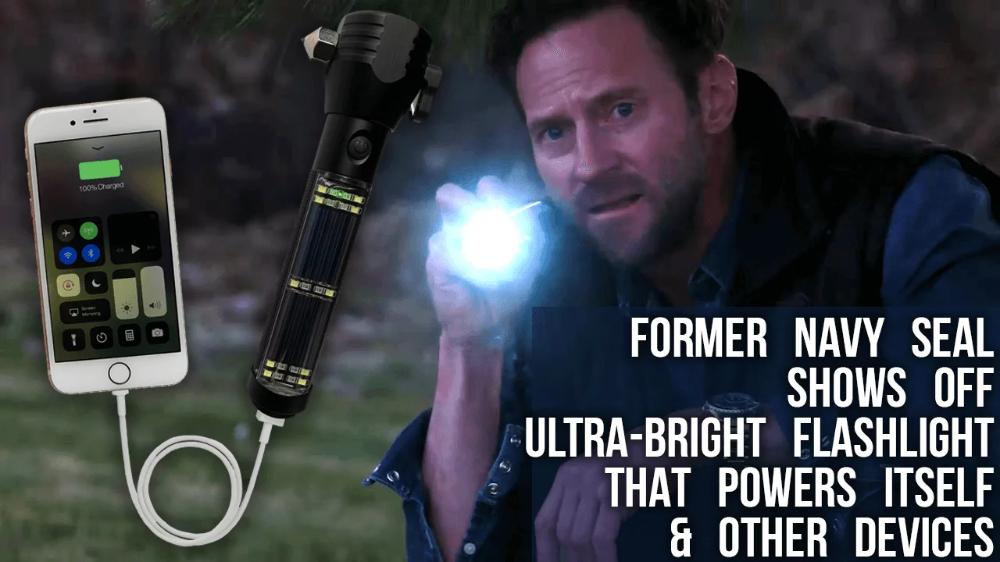 4patriots power solar flashlight secret generator