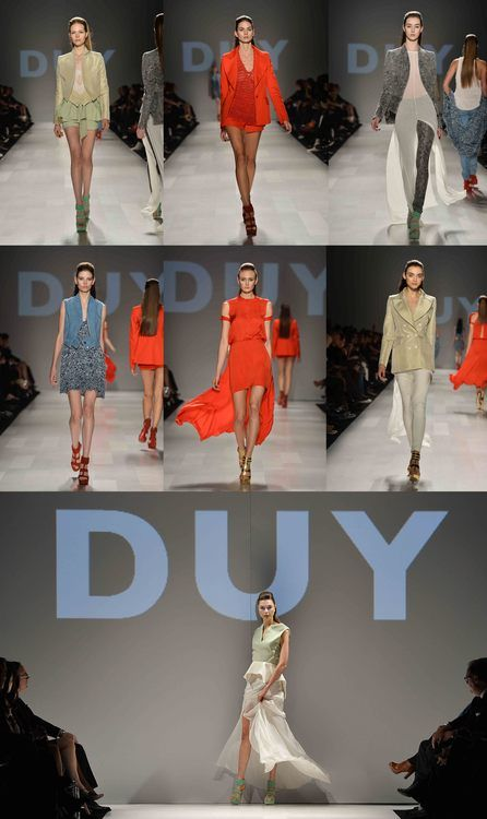 A true highlight of this season's World MasterCard® Fashion Week was by far DUY's big win at the Mercedes-Benz Start Up final showcase. This Tuesday, in front...