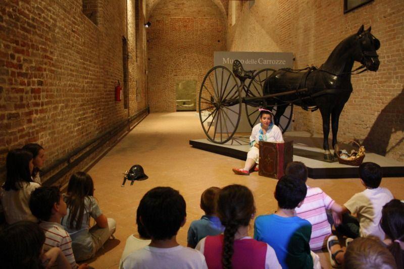 Bambini insonni al Museo delle Carrozze di PIacenza