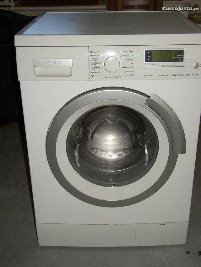 Maquina lavar roupa Siemens 8 kg - para peças