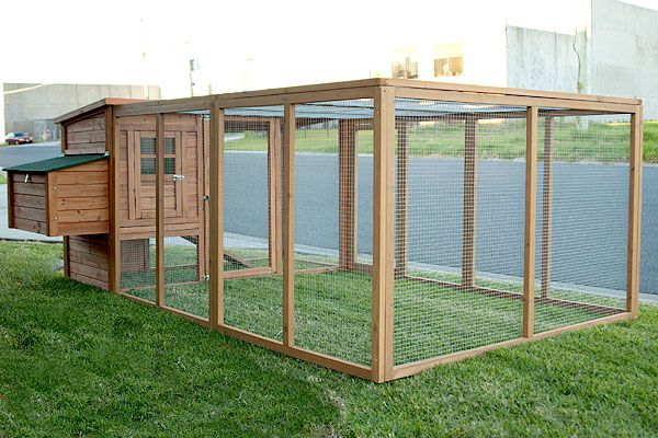 GIANT Chicken Coop For Up To 12 Chickens, Rabbit Hutch Hen Chook House