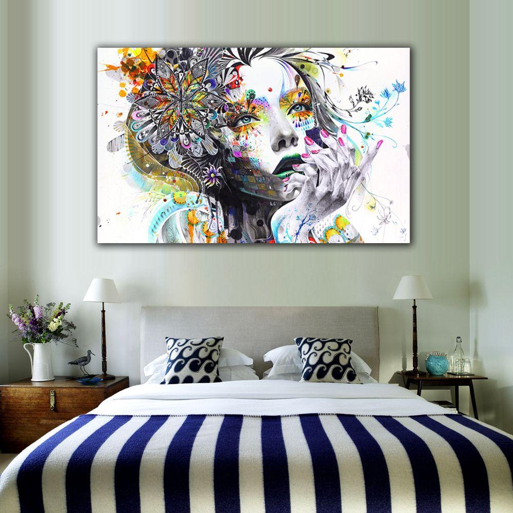 Modern Wall Art | HOME | Pinterest | Modern wall art, Modern wall ... for Wall Paintings For Bedrooms For Girls  61obs