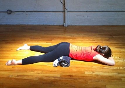 try this easy pose for back  hip relief with images
