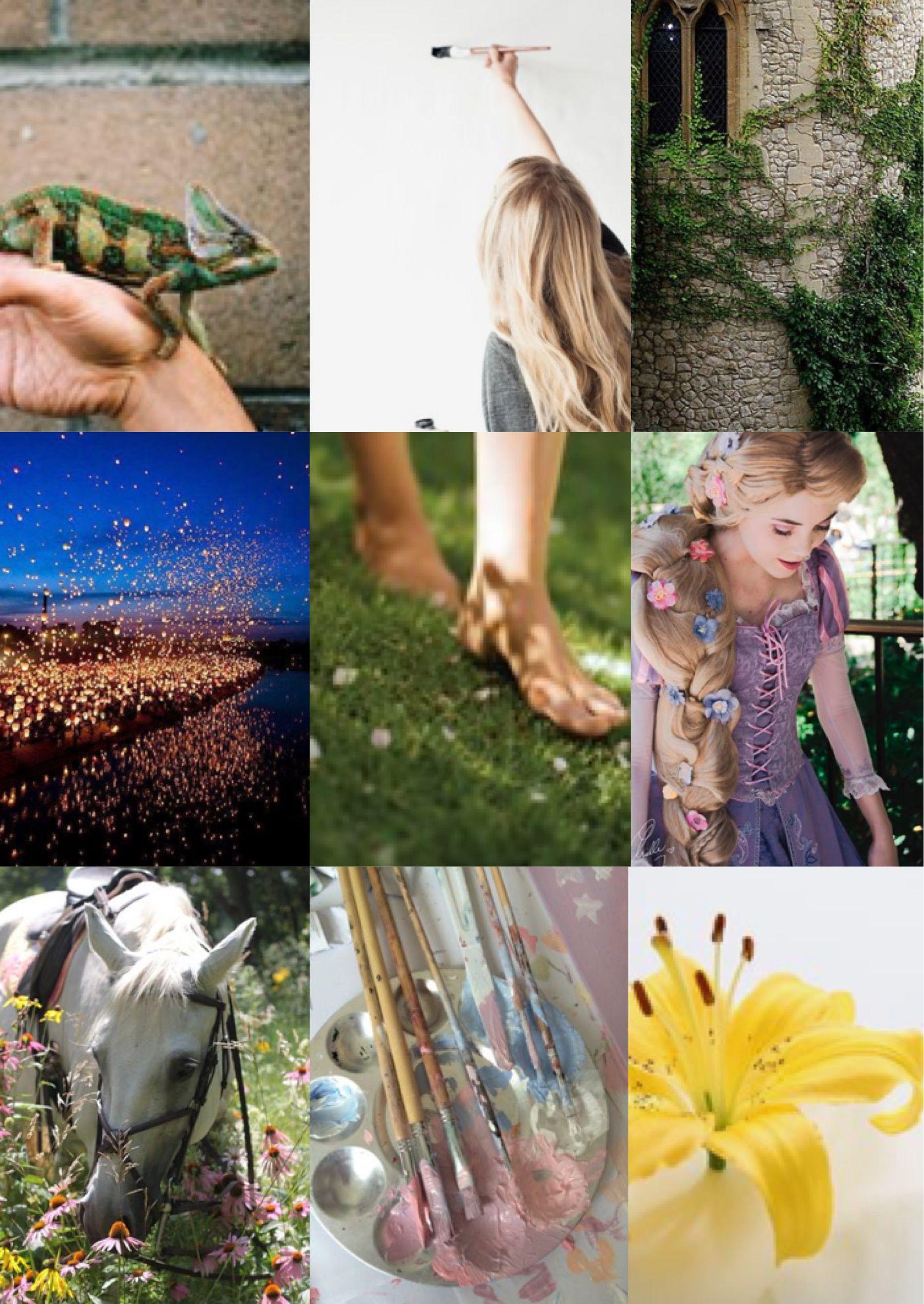 Rapunzel aesthetic inspiration Disney princess, Dance blog