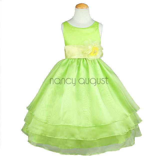 1000  images about Green Girls Dresses on Pinterest  The natural ...