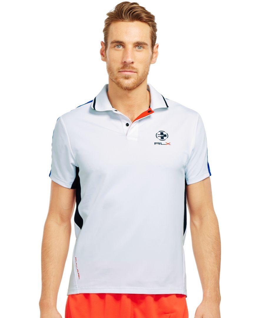 Polo Ralph Lauren Performance Mesh Rlx Polo Shirt Sports