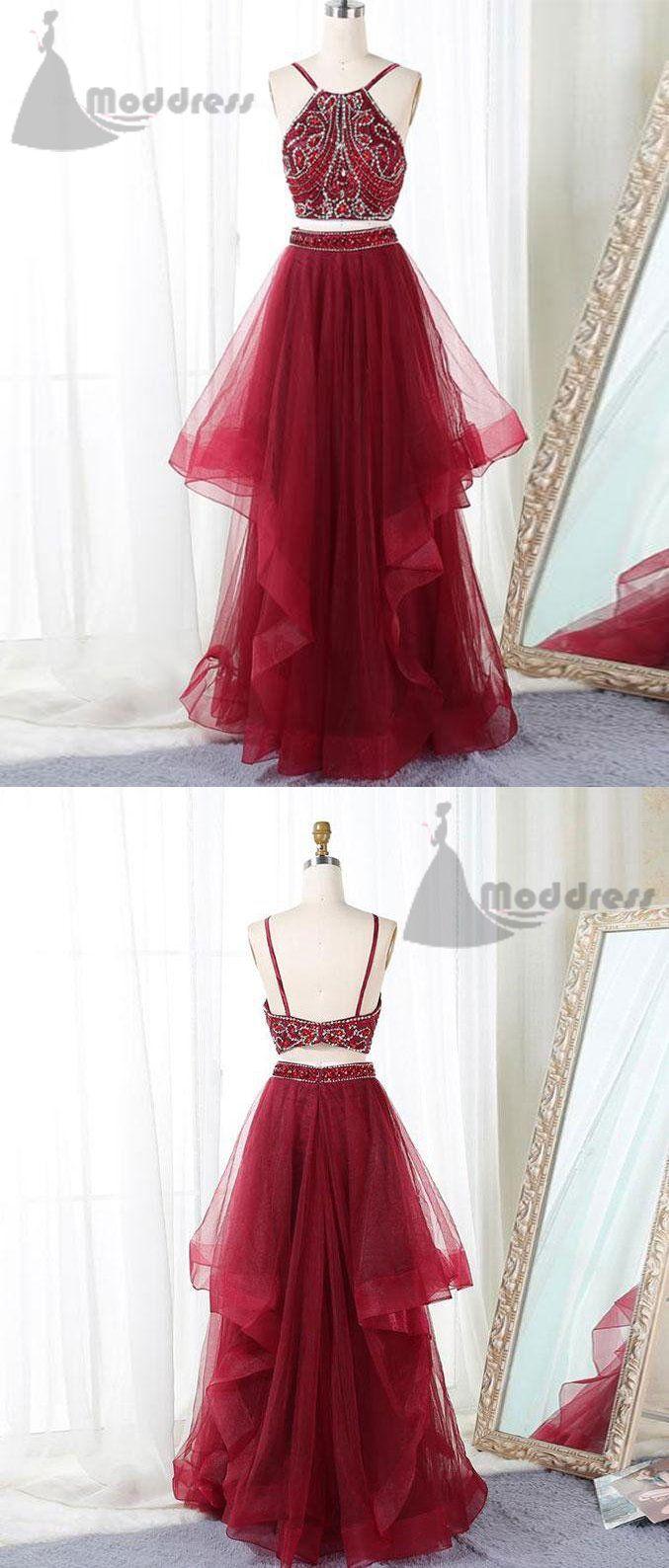 pieces homecoming dress sleeveless long prom dress aline