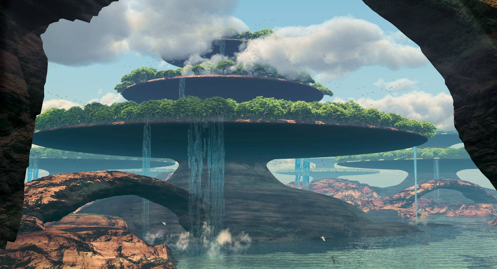 Terraform 1 by *OutlawStudios on deviantART | Fantasy, SciFi