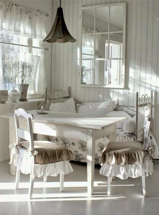Pin by Dessi Georgieva on Home decor | Shabby chic dining ...