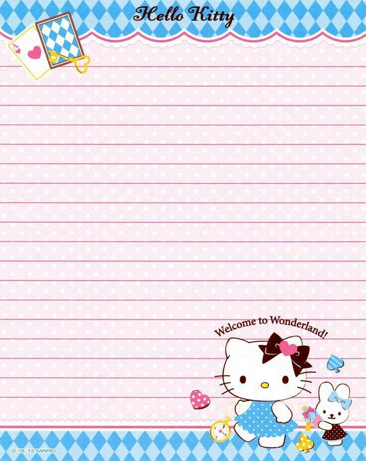 Pin by Liz Kurumu on hojas de cartas Pinterest Stationary - printable notepad paper