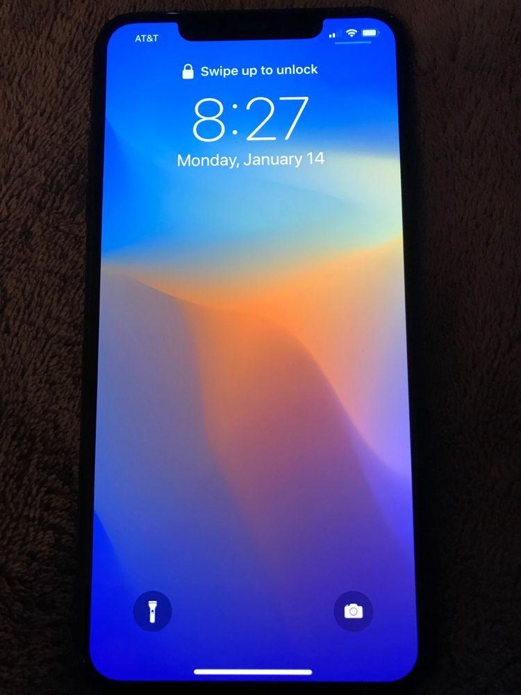 Apple iphone xs max 256gb space gray att a1921