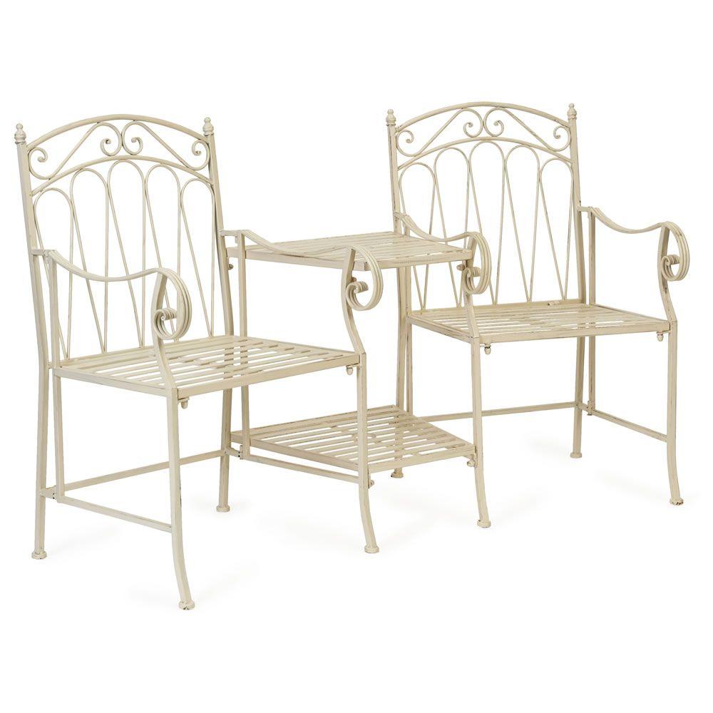 2 Seater Love Chair Elegant Covers Wilko Romance Seat Garden Stuff Furniture