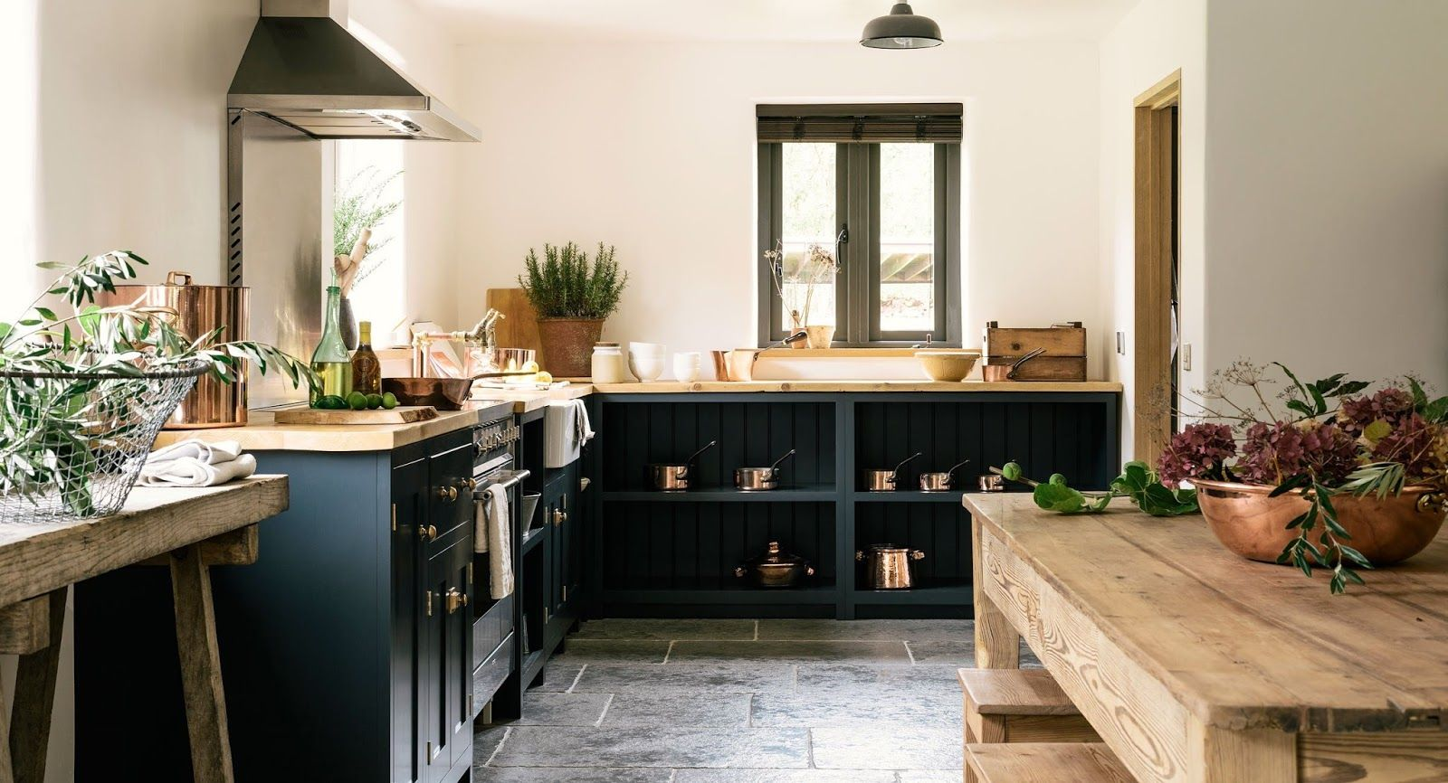 Handsome Custom Country Kitchen On A Budget!