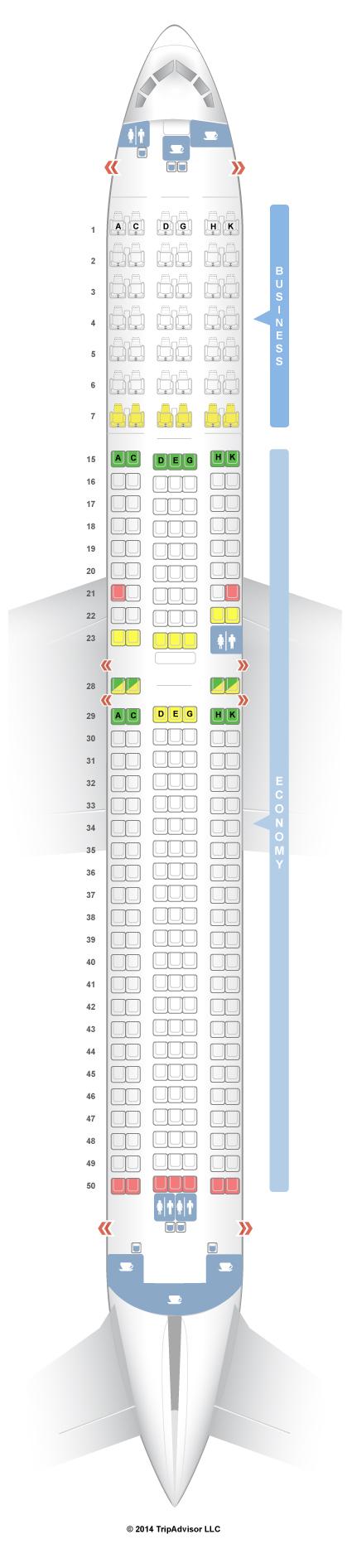 Seatguru seat map jal boeing er   also best travel rh pinterest