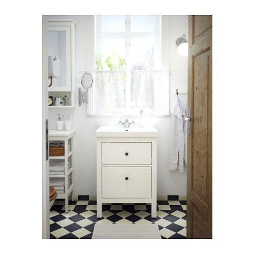 Hemnes Waschbeckenschrank 2 Schubl Weiss Ikea Deutschland Mit Bildern Waschbeckenschrank Kleine Badezimmerschranke Kleine Badezimmer