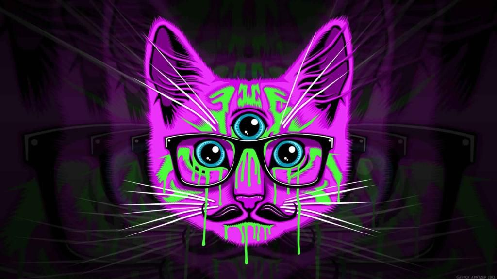 Trippy Wallpapers Iphone X Screensaver Background 591307 4k Hd Free Download 1 Hipster Wallpaper Hipster Cat Trippy Wallpaper