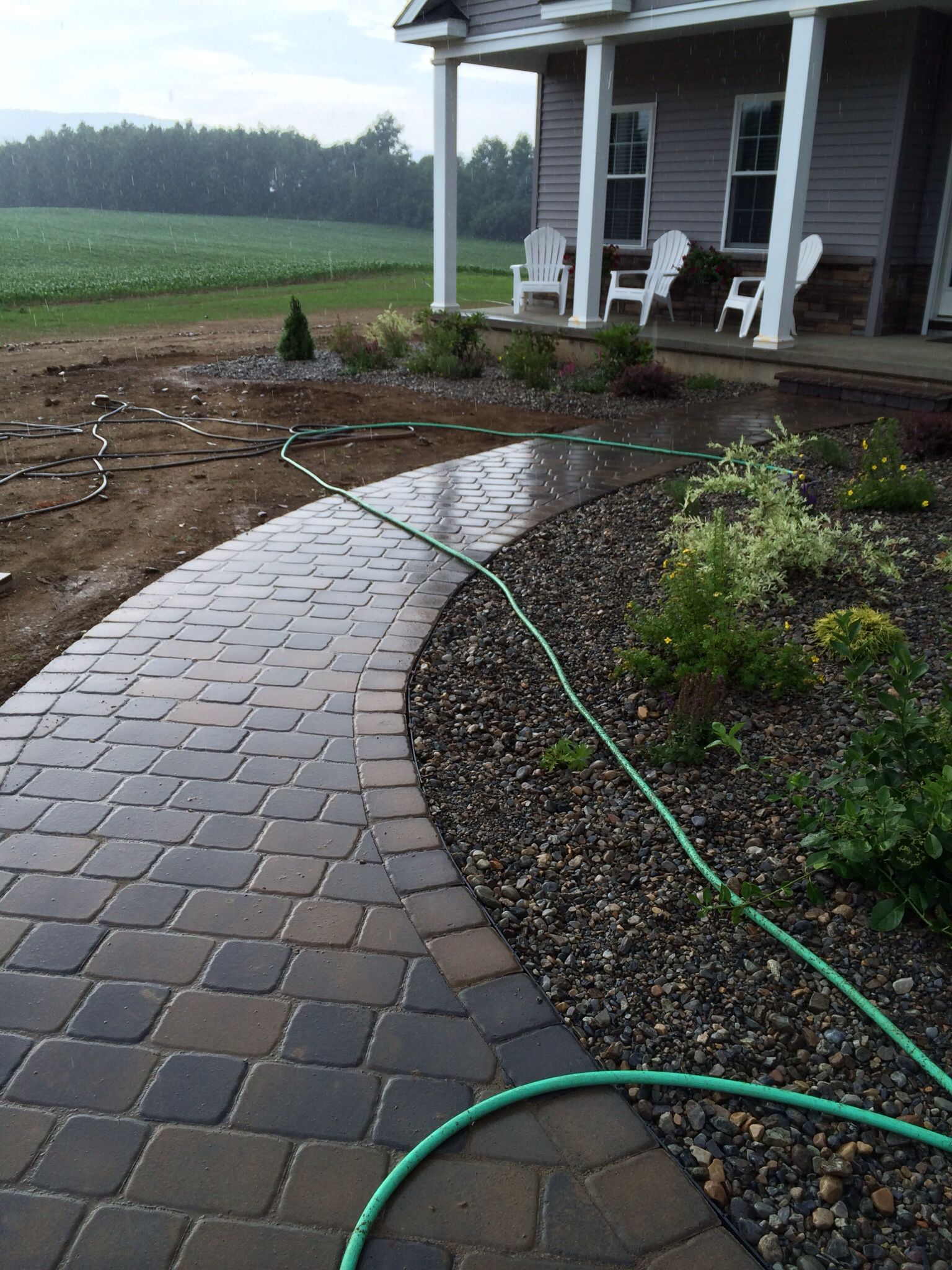 Belgard London Cobble In Saratoga Blend. Installed By Matts Landscaping U0026  Stonescaping LLC 2014