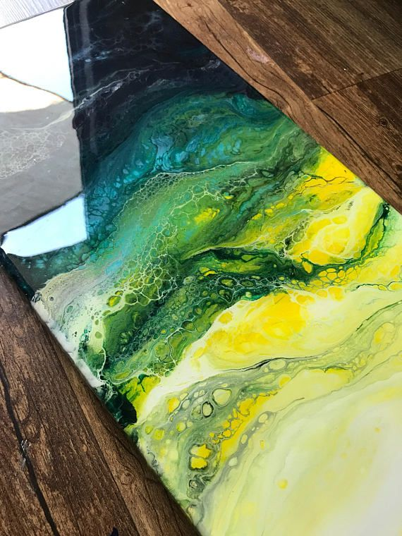 Este año he descubierto pintura abstracta utilizando acrílicos ...