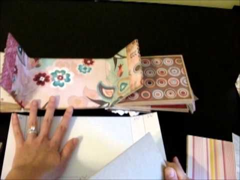 Gatefold Modified Paper Bag Mini Album