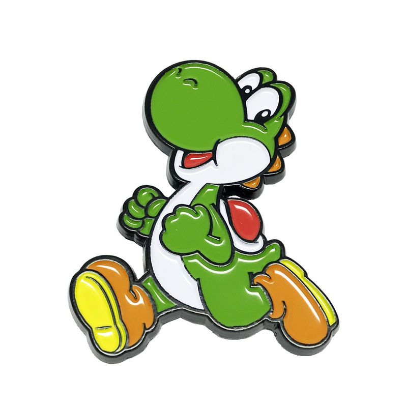 Super Mario Yoshi Enamel Pin in 2020 | Pin, patches, Bag ...