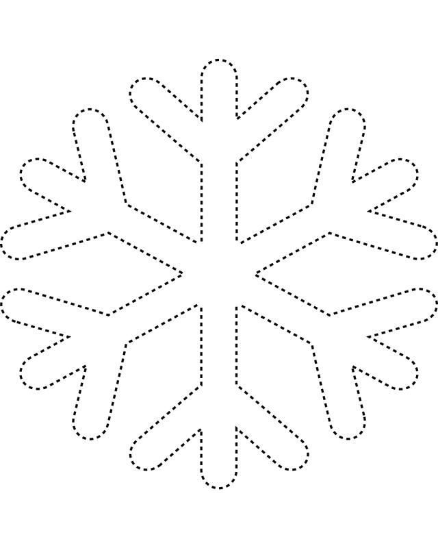 Printable Snowflake Templates to Get You Through Any Snow