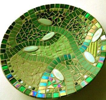 Mosaic Trader UK - Mosaico de arranque Prato com cortador de rodas: Verde **