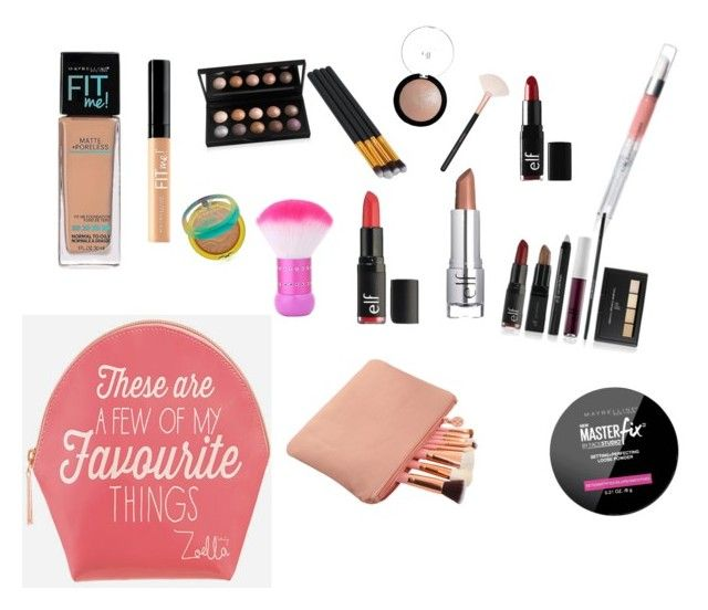 """""""Go To's"""" by debo1018 ❤ liked on Polyvore featuring beauty, Maybelline, Physicians Formula, e.l.f. and Zoella Beauty"""