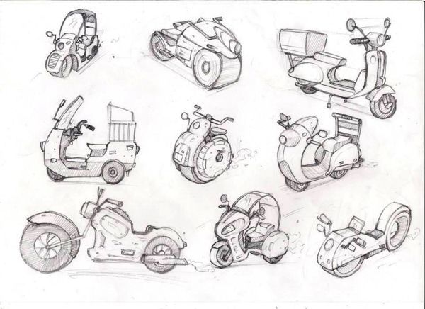 Vehicle sketches –  – #sketches #vehicle