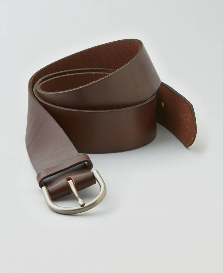 American Eagle Leather Belt, Women's, Brown | Belts for