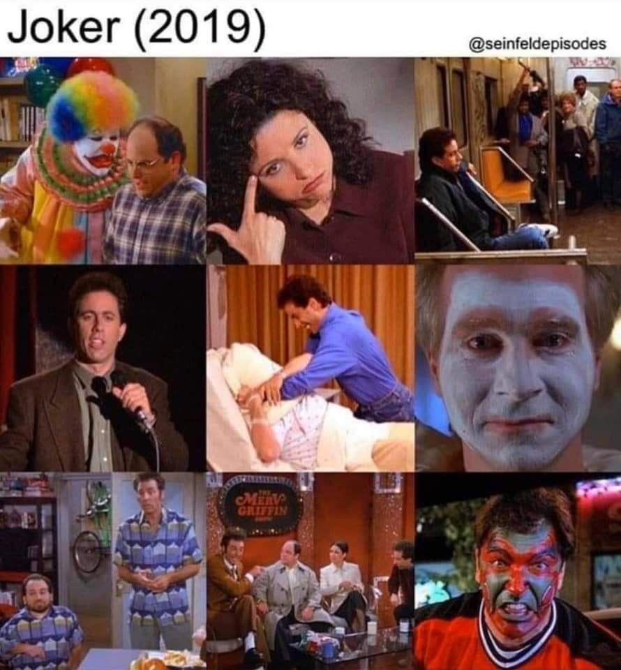 Pin By Cedric Tan On Hilarious Memes Joker Seinfeld