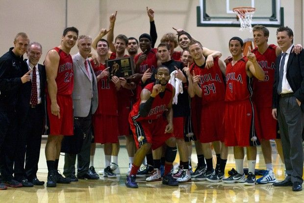 The 2011-12 men's basketball team was Biola's first to capture a GSAC tournament title