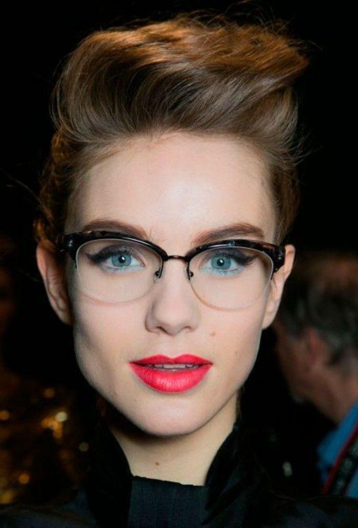 682c4ac46da2be Lunette Sans Correction, Makeup With Glasses, Eye Glasses, Heart Glasses,  Glasses Style