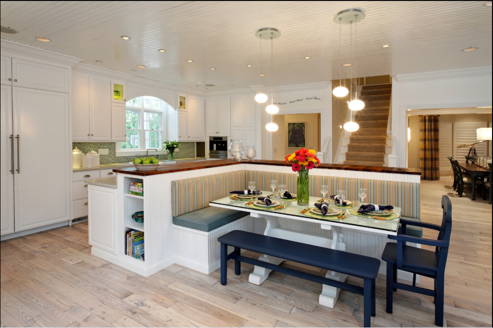 How A Kitchen Table With Bench Seating Can Totally Complete Your