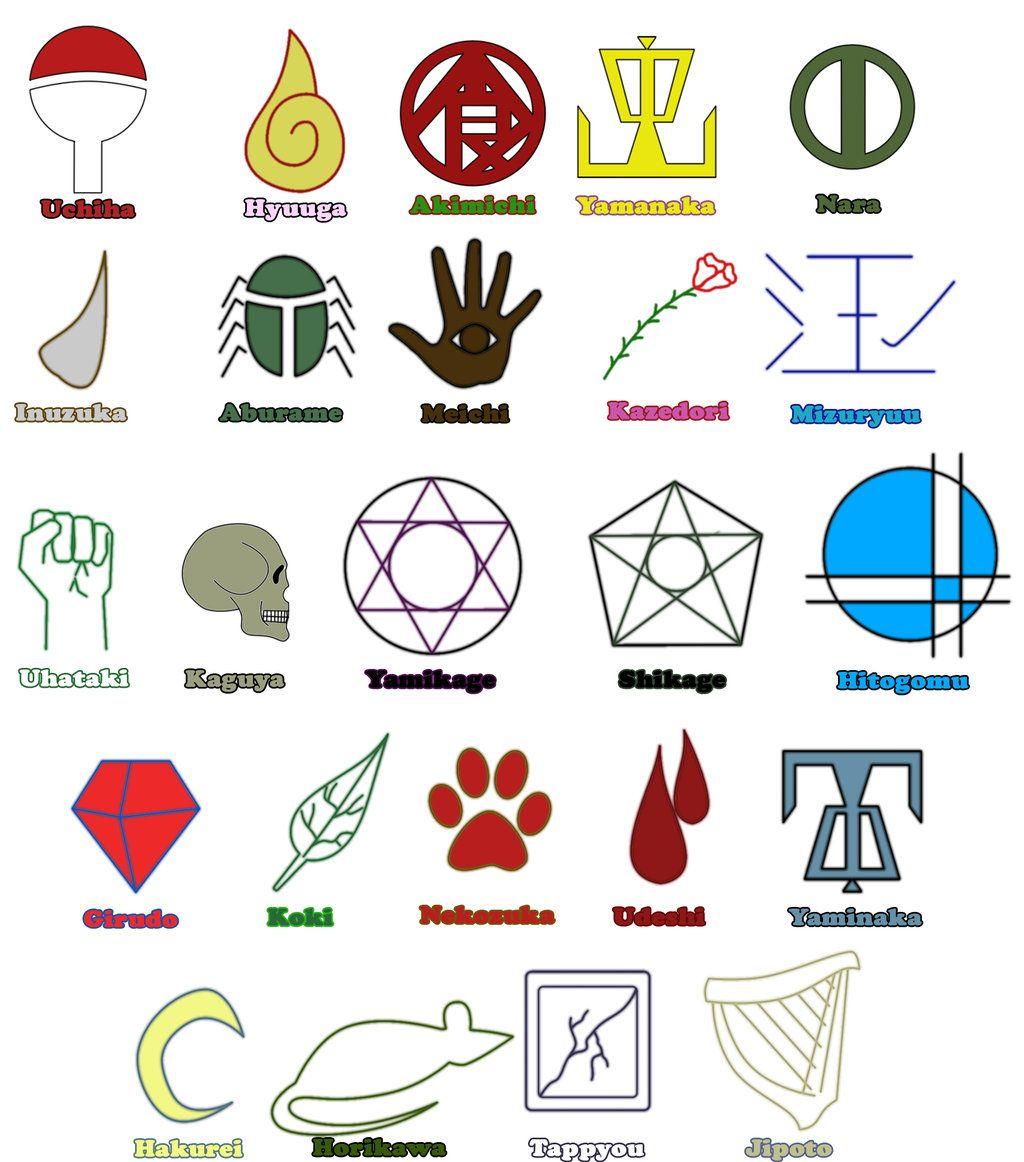 Clan symbols naruto jeftha pinterest naruto symbols and anime clan symbols naruto biocorpaavc Image collections