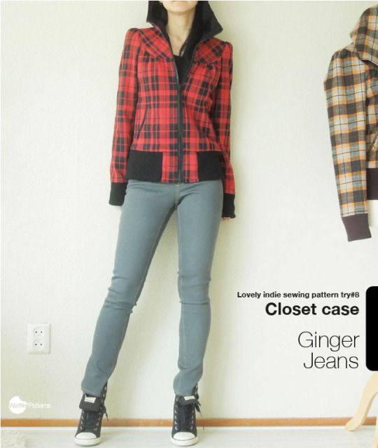 waffle patterns indie sewing pattern try ginger jeans   My sewing PJ ...