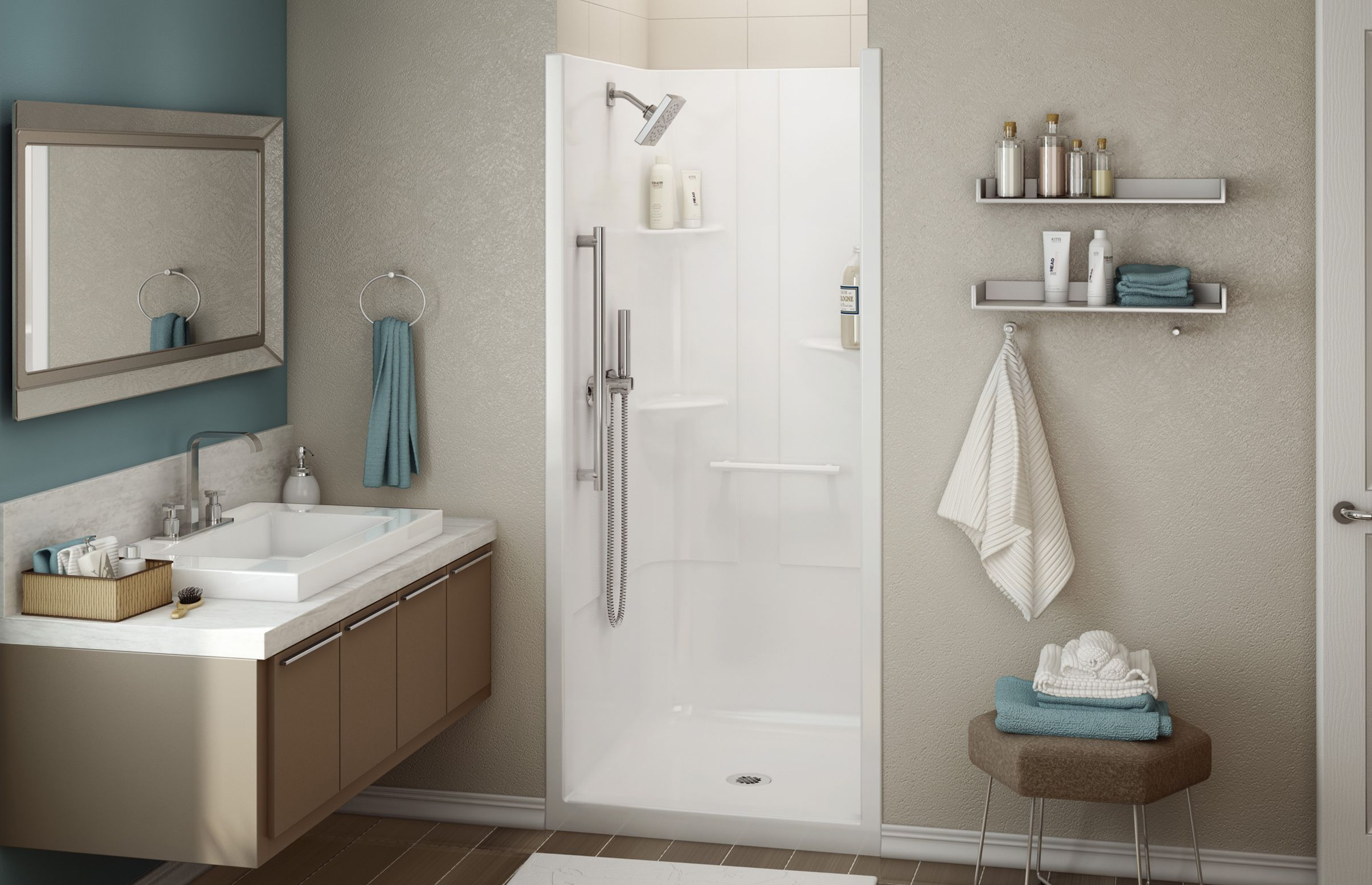 ALLIA SH-3636 Alcove Showers - MAAX Professional? | MAAX | Pinterest ...