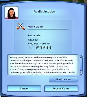 Mage Guild Career | Sims 4 Mods | Sims 3 mods, Sims 4 mods, Sims mods