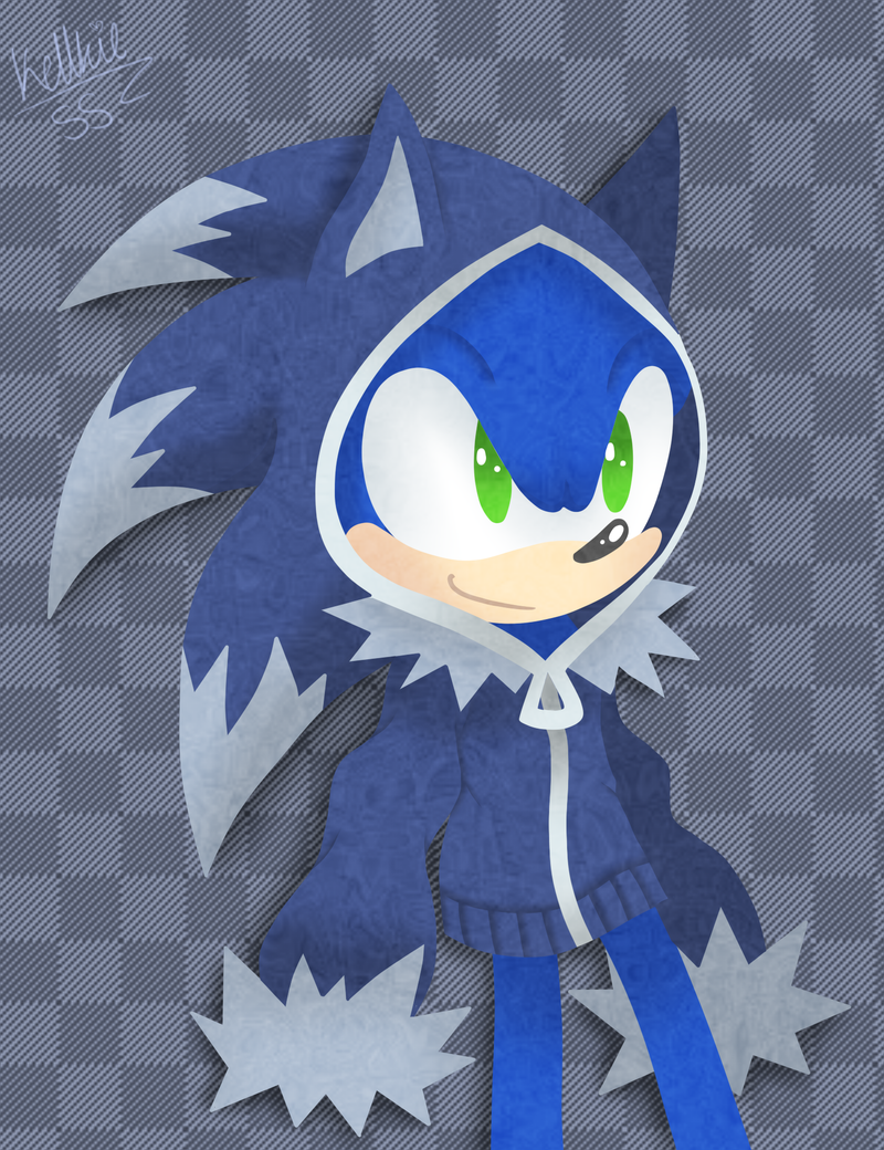 Werehog Hoodie By Kellkie Deviantart Com On Deviantart If I Could Buy It I Will Be The Happiest Person In The Universe Sonic Art Sonic Unleashed Sonic