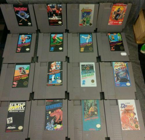 16 VG- to NM-Nintendo NES games Castlevania Mike Tyson Final Fantasy Ninja Gaide https://t.co/9WQxZtzmBQ https://t.co/YMQfpLNjzc